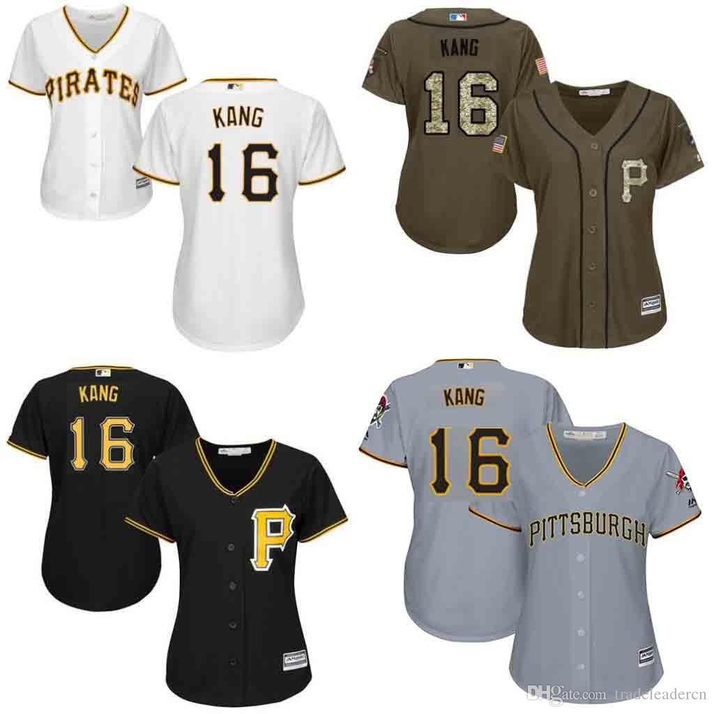 the latest b4134 23350 Womens Pittsburgh Pirates Jersey