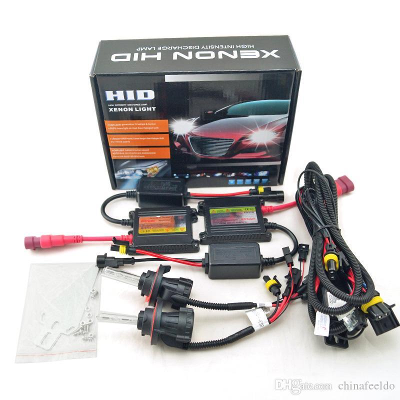 For Hyundai Sonata 55W H7 HID Conversion Kit Xenon Headlight Bulbs 5000-10000K