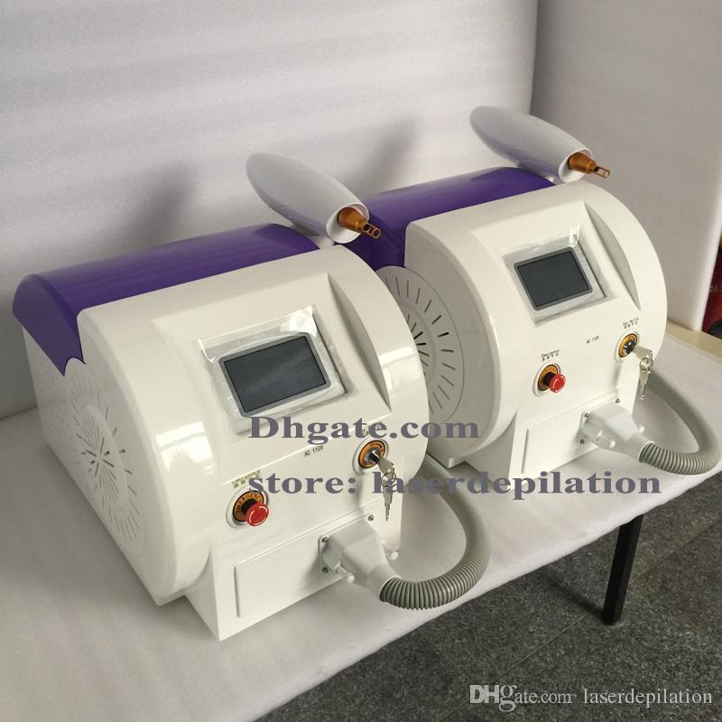 Ekran dotykowy 1000 W Q Switched ND YAG Laser Uroda Maszyna do usuwania Tatuaż Blizny Usuwanie 1320NM 1064NM 532nm