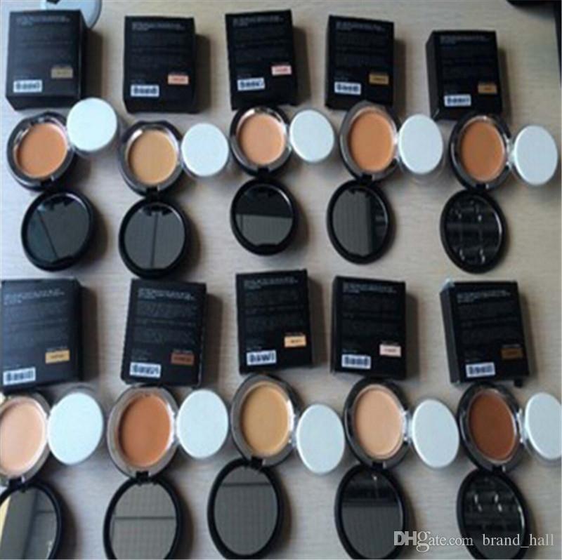Beste Qualität !! Younique Pulver Foundation Make-up Textmarker Touch Mineral Foundation Touche Eclat Primer Gesicht Stick mit Puff