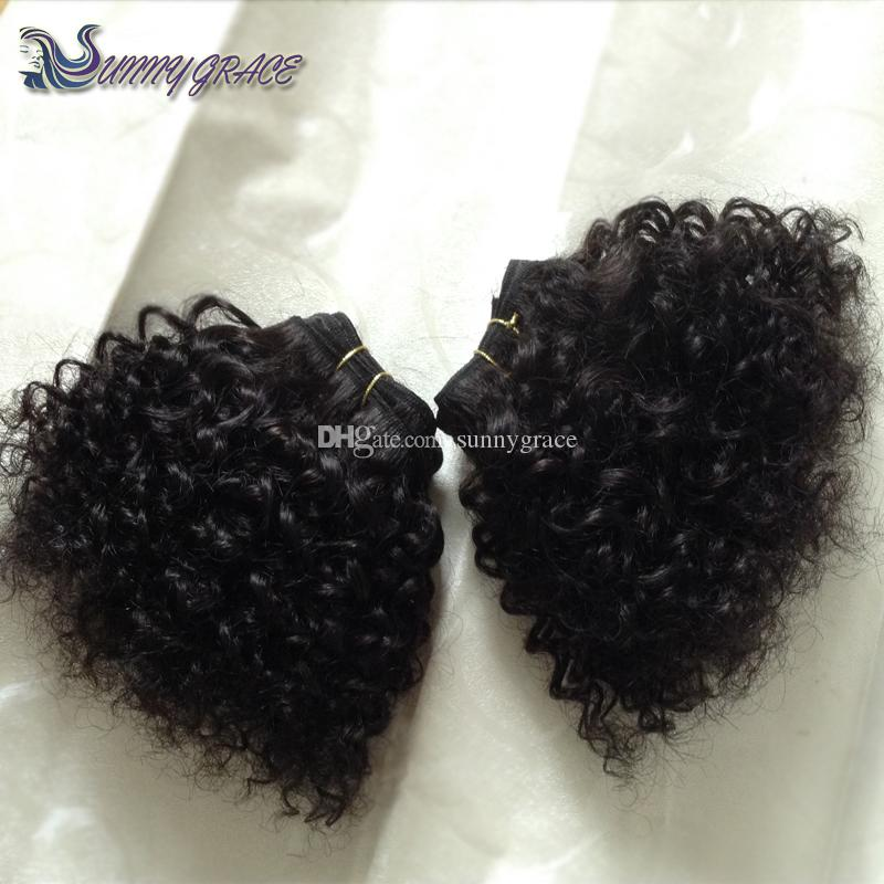 Baby curly hair extension natural black 1b bebe curly brazilian see larger image pmusecretfo Images