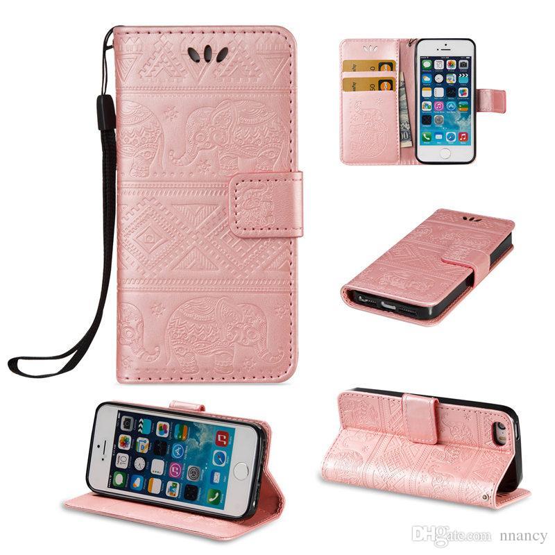 Fr Iphone 5 S Telefon Case Se Abdeckung Flip Brieftasche Fllen Stnder Abdeckungen Nette Elegante Premium Pu Leder Shell Mit 2017 Heisser