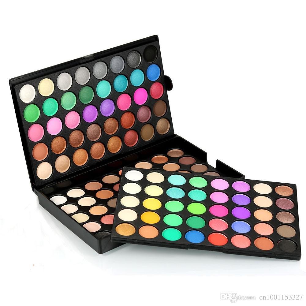 Popfeel جديد ظلال 120 الألوان المهنية ماكياج لؤلؤي ماتي عارية ظلال العيون لوحة دي maquiagem ماء العين الظل