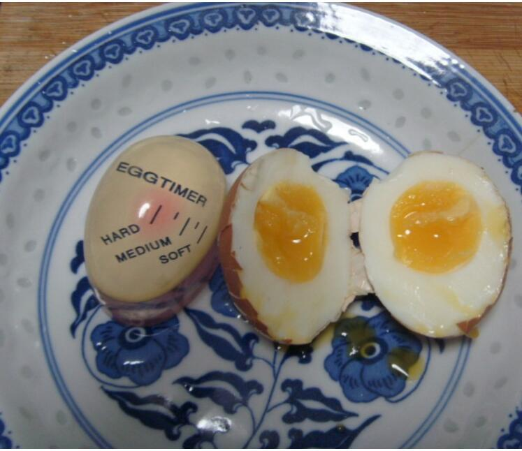 Egg Timer Kitchen Supplies Egg Perfect Color Changing Perfect Boiled Eggs Cooking Helper DHL
