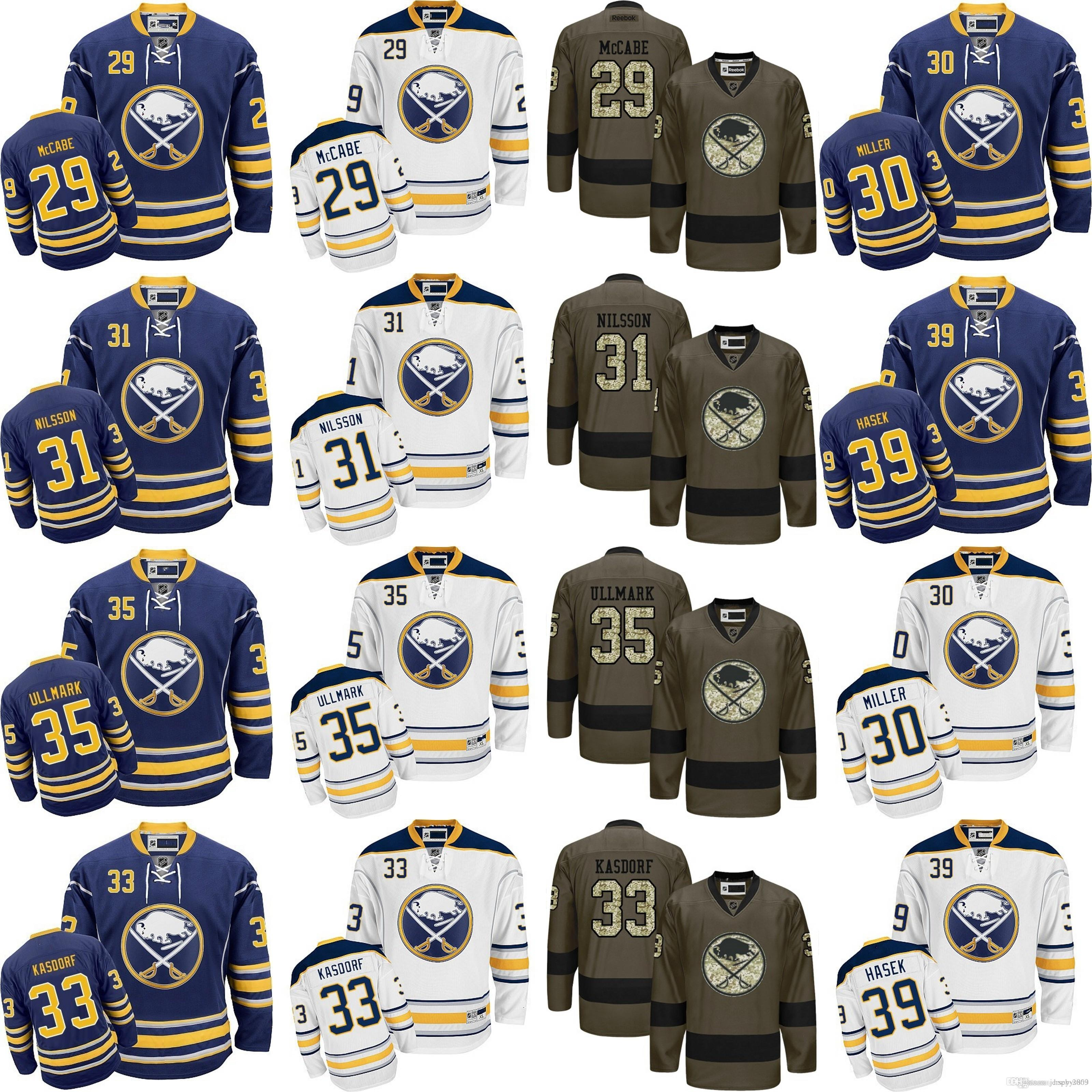 2ceab54fa ... shop 2017 mens buffalo sabre 29 jake mccabe 30 ryan mille 31 anders  nilsson 33 jason