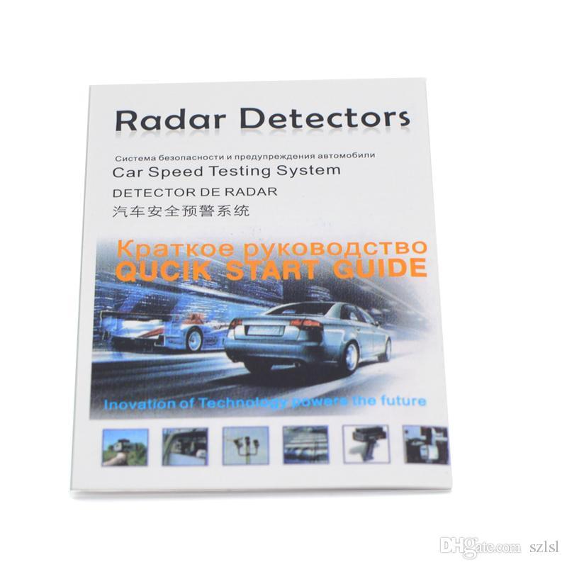 V9 Car Radar Detector 12V Auto Speed Detector 360 Degree Radar Detector Voice Alert Warning LED Display