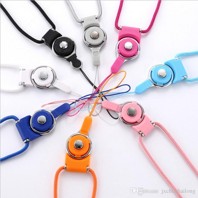 2018 Nylon Long Detachable Phone Neck Hang Lanyard Straps Holder ...