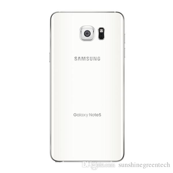 Refurbished Samsung Galaxy Note 5 N920C EU version Cell Phones 5.7 inch LTE Refurbished phones 4GB RAM 32GB ROM Smartphone