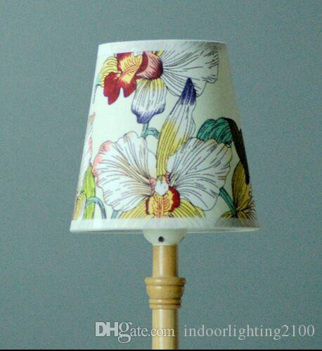 Europa und Amerika Stil 6 zoll E27 Baumwollgewebe Lampenschirme Für Kleine Tischlampen Wandleuchten Lampe Kronleuchter Beleuchtungsteile