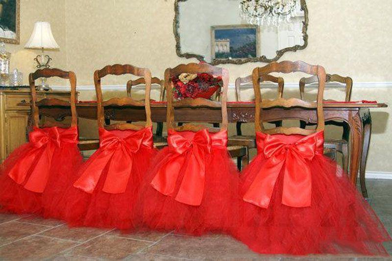 무료 배송 사용자 정의 만든 레이스 얇은 명주 그물 의자 띠 파티 의자 거즈 다시 띠 의자 장식 파티 웨딩 Suppies