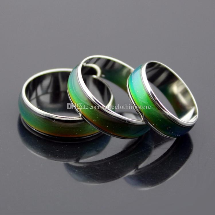 Good Quality! Thick Mood Rings CHANGING COLOR MAGIC EMOTION FEELING MOOD RING For Men and Women