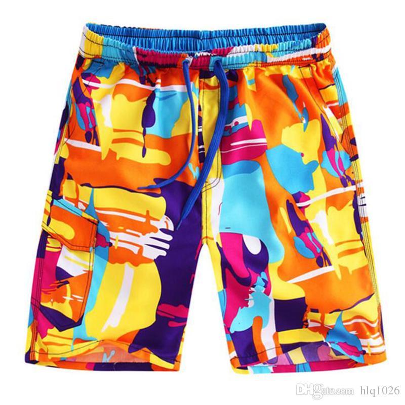 f935db02e7 Wholesale Mens board shorts summer surf shorts men running swimming trunks  male swimwear shorts quick drying men's beach wear