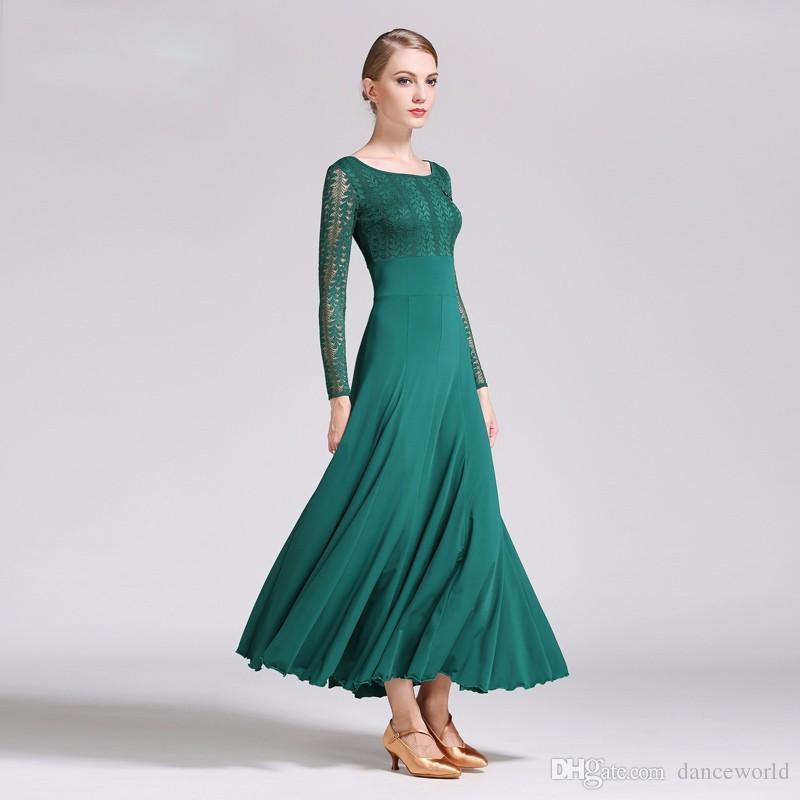 2018 seksi 6 renkler camisa flamenko elbiseler dans balo salonu flamenko dans kostümleri koro balo salonu dans elbiseler kırmızı İspanyol elbise vals
