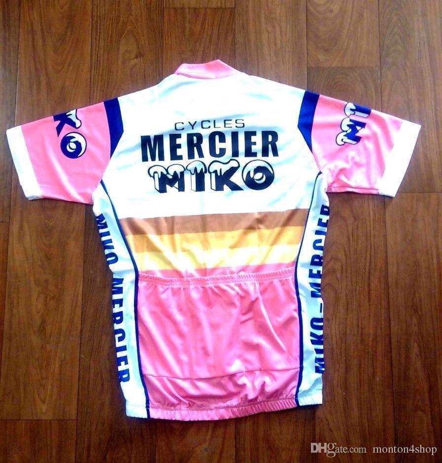 2019 MIKO Mercier cycling Jersey maglie ciclismo traspiranti manica corta estate panno asciutto rapido MTB Ropa ciclismo B19