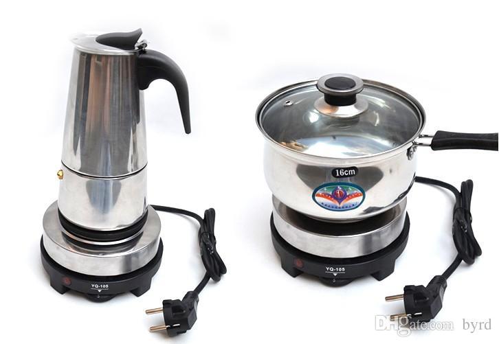 Mini-Kaffee-Herd Elektrischer Mokka-Topfofen Kleiner Haushalt elektrischer Kocher Temperierofen 500W 220V
