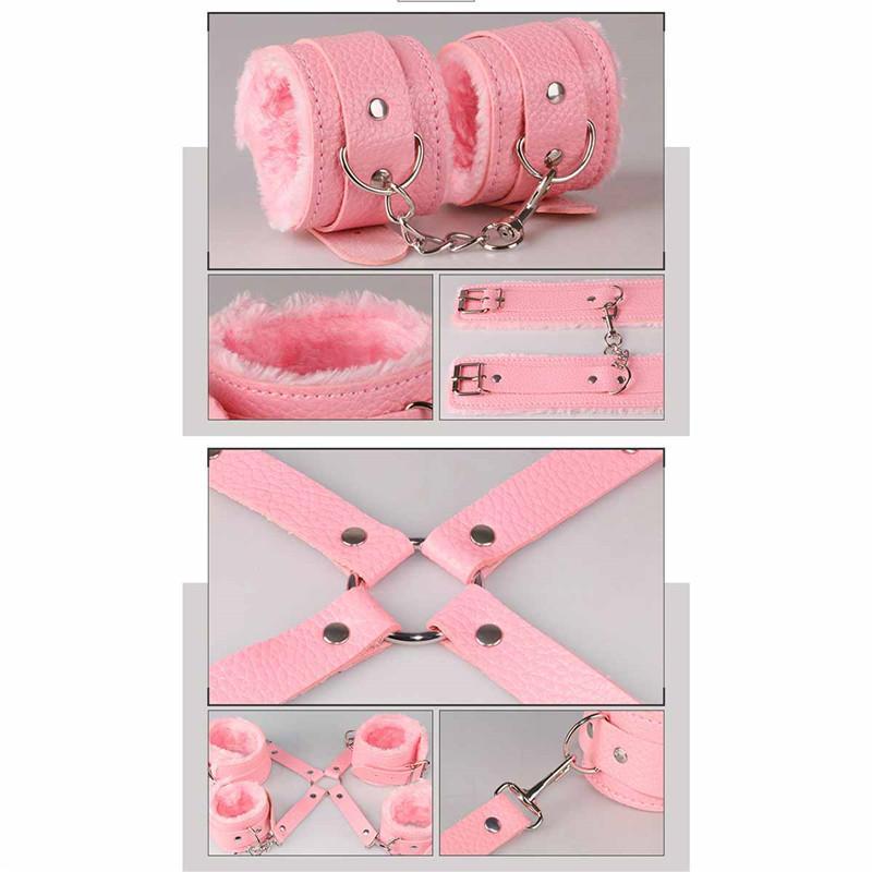7 шт./компл. сдержанность Кабала кожа секс игры БДСМ секс игрушки раб игры Sexy Womenizer эротические игрушки наручники кляп секс игрушки для пар 3105003