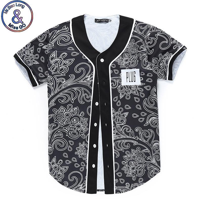 Mr.Baolong New Design Lovely Button Cardigan Baseball T Shirt 3d ...