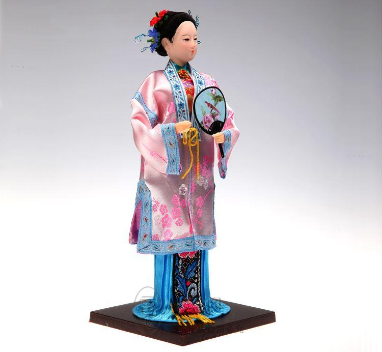 Tang Fang Tang silk doll authentic crafts business gifts of foreign affairs Home Furnishing decoration Peking Opera Li Wan