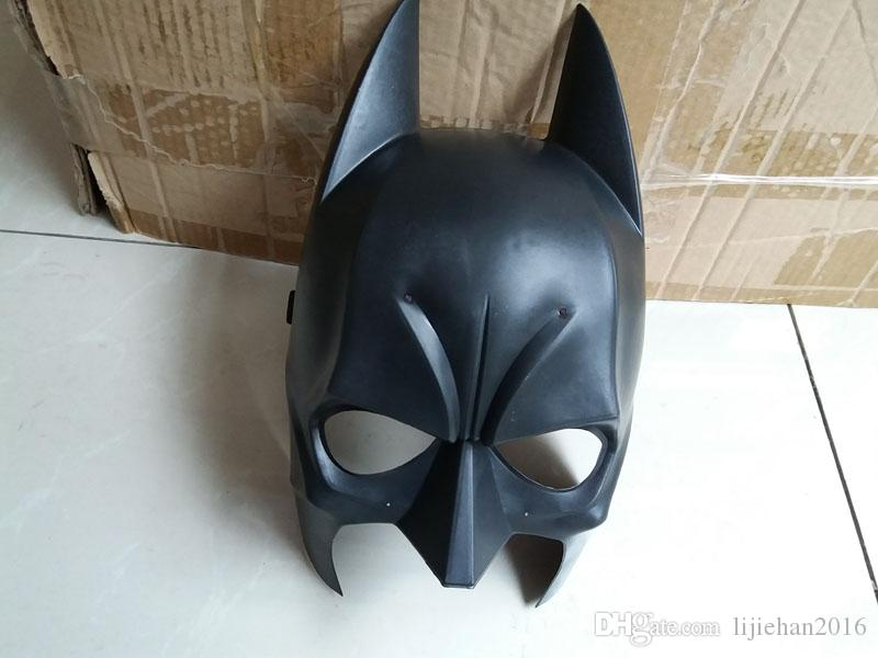 Dark Knight Adult Batman Mask Mardi Gras Party Mask Costume Decoration Costume Masquerade Theme Black One Szie Fit Most Adult