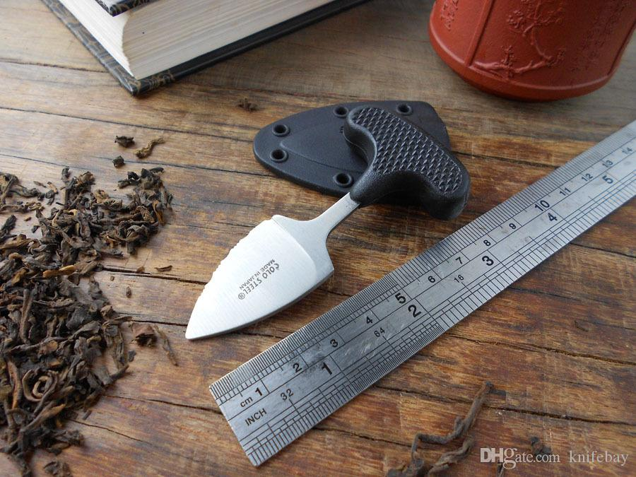 Promotion! Cold Steel Push Dagger mini Fixed Blade Knife Urban Pal Punching Knives multifunction ourdoor Hiking Camping hand tool survival