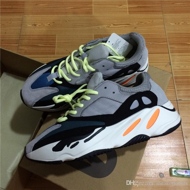 outlet where can you find pick a best sale online Kanye West Wave Runner 700 Boots Grey Classic Running Shoes for men 700s womens mens Sports Sneakers trainers outdoor designer Causal shoes cheap good selling cheap sale extremely zaqcuL