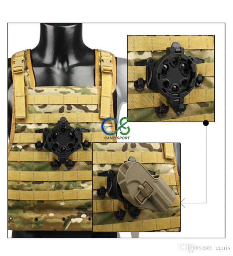 New Arrival Tactical Accessories Holster Platforms 360 Degree Angles For Outdoor Sport Use CL7-0047