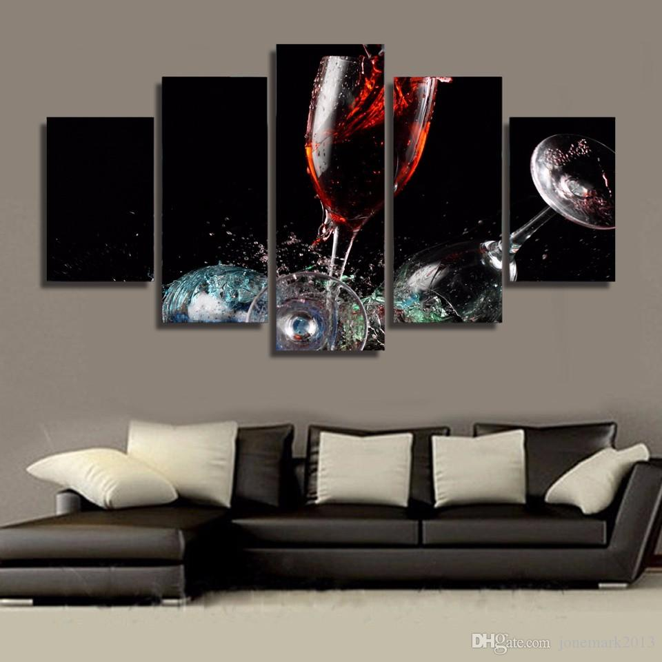 Framed HD Printed Broken glass Painting Canvas Print room decor print poster picture canvas /NY-5872