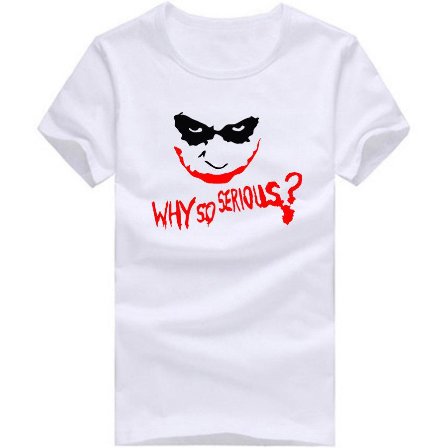 wholesale printed cartoon tee shirt joker men t shirts new style
