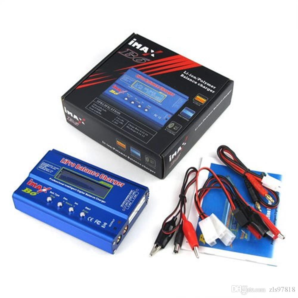 80W IMAX B6 Lipo Charger For Rc Toys Battery Charger Rc
