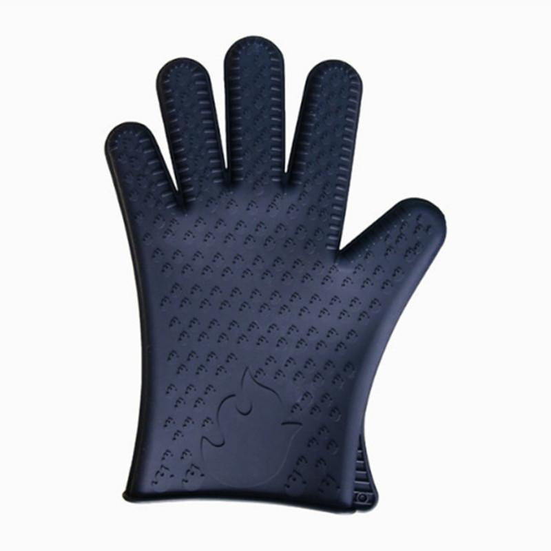 Heat Gloves Holder Barbecue Coal-scuttle Kitchen Oven Mitts Cook Microwave Resistant Gloves Pot Kitchen Tools BBQ Grilling Cooking Tool