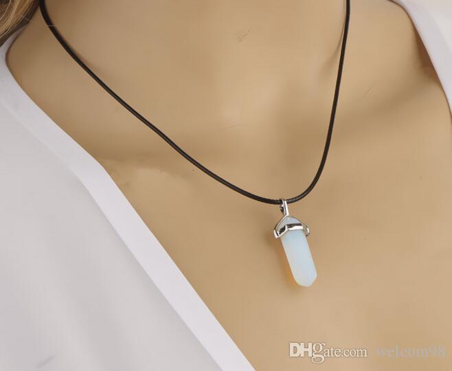 DIY 공예 패션 쥬얼리 선물 PG12에 대 한 / 여러 가지 빛깔의 다이아몬드 램프 워크 유리 펜던트 목걸이