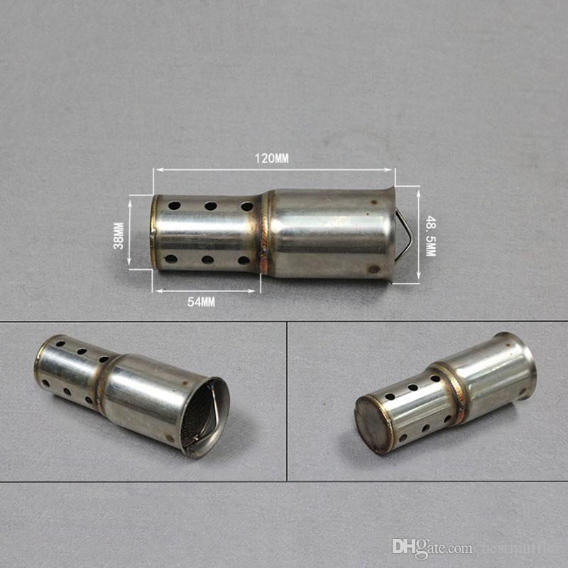 Universal-Lengthen der Katalysator Schalldämpfer für Motorrad Auspuff DB Killer Schalldämpfer