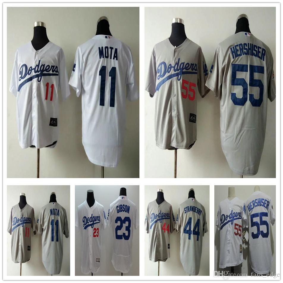 2017 throwback los angeles dodgers baseball 11 manny mota jersey 23 kirk gibson stitched 44 darryl