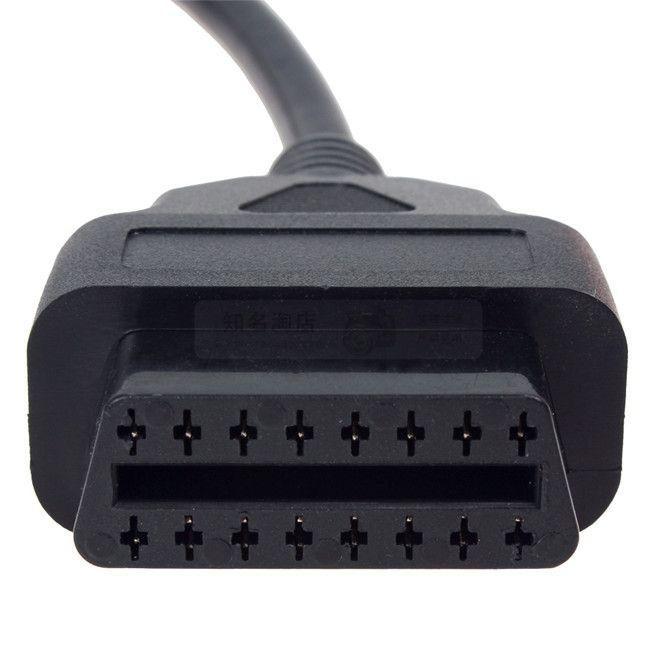 ECUtool Fcarobd 16pin كابل تمديد 16pin موصل OBD2 ذكر إلى أنثى 1 متر 16Pin OBDII plug DHgate المتجر: 19732402