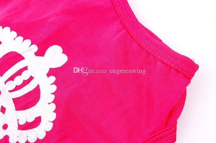 Fashion Crown Pet Dog Vest Princess Shirt Ventilated Puppy Apparel Pet Clothes for Small Dogs Cats Small Medium Large Size