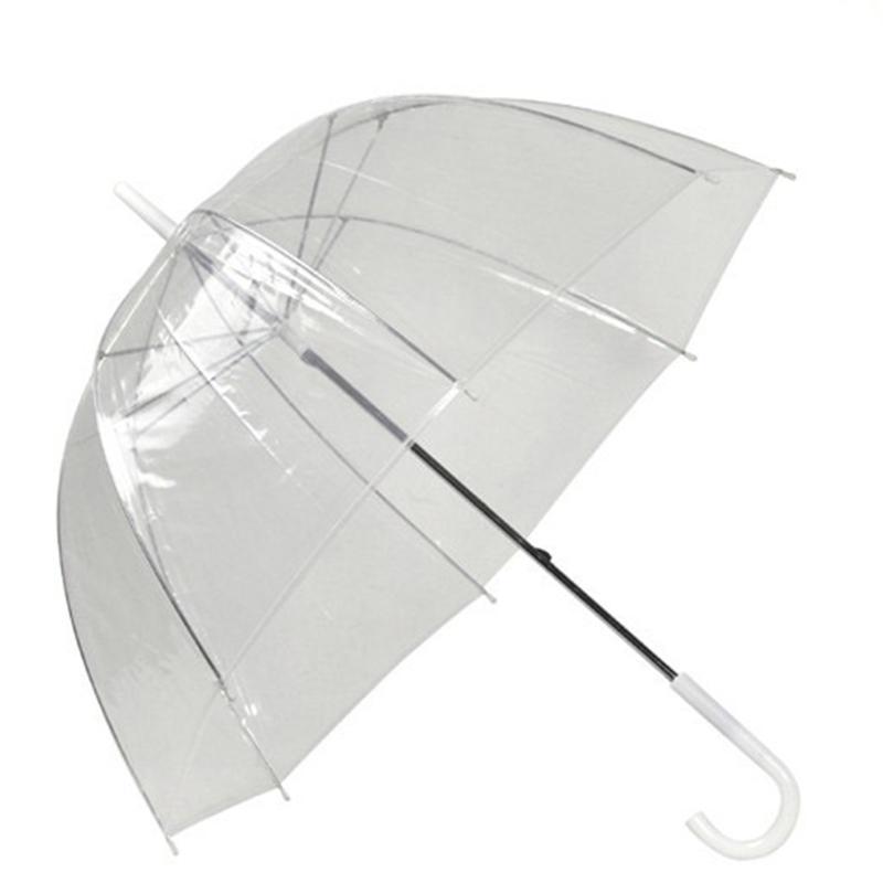 Elegante Simplicidade Bolha Abóbada Profunda Umbrella Apollo Guarda-chuva Transparente Menina Cogumelo Guarda-chuva de Bolha Clara 3002014