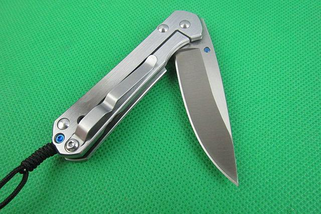 High Quality ! Chris Reeve Mercerizing handle CR Hunting \ pocket knife\ Camping Tool \ survival \ Rescure