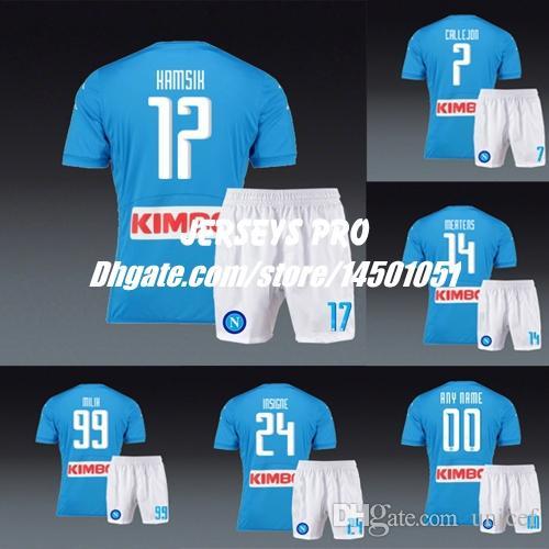 Camiseta Napoli JOSE' CALLEJON