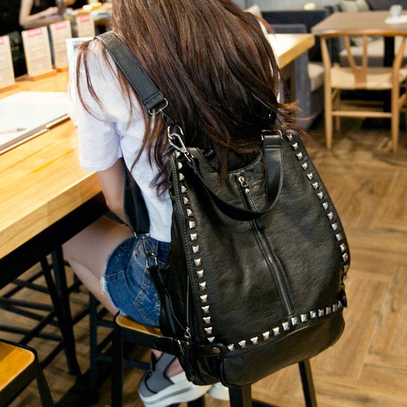 Damentaschen GüNstig Einkaufen Jhd-frauen Taschen Designer Kupplung Mode Niet Motorrad Schulter Tasche Neue Sommer Mode Handtasche Kette Crossbody Jacke Tasche