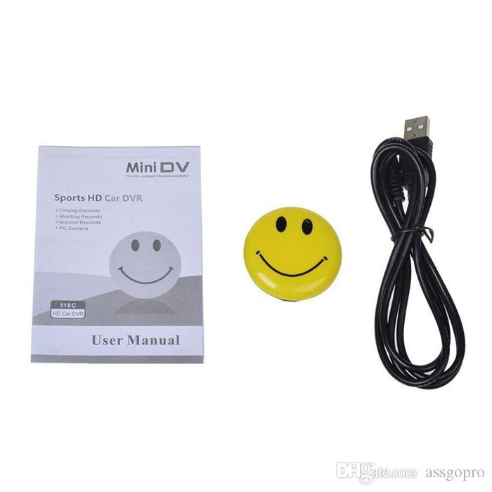 Yeni Gülümseme Yüz Mikro Kamera Mini Güvenlik DVR Video Kaydedici Taşınabilir Kamera Süper Mini Kam Cep DV Ücretsiz Kargo