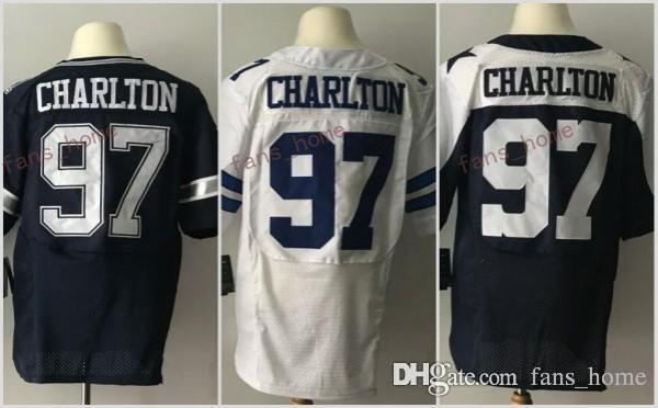 2647b1b3cc5 ... Nike Dallas Cowboys 97 Rush 2017 Thanksgiving 97 Taco Charlton Jersey  2017 Draft Pick Men Color Rush American Taco Charlton Football ...