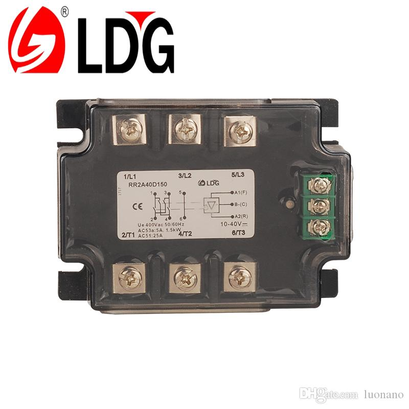 2018 three phase ssr relay module solid state motor controller 2018 three phase ssr relay module solid state motor controller rr2a40d150 industrial 2 phase io reversing 3kw motor reversing solid state relay from luonano sciox Images