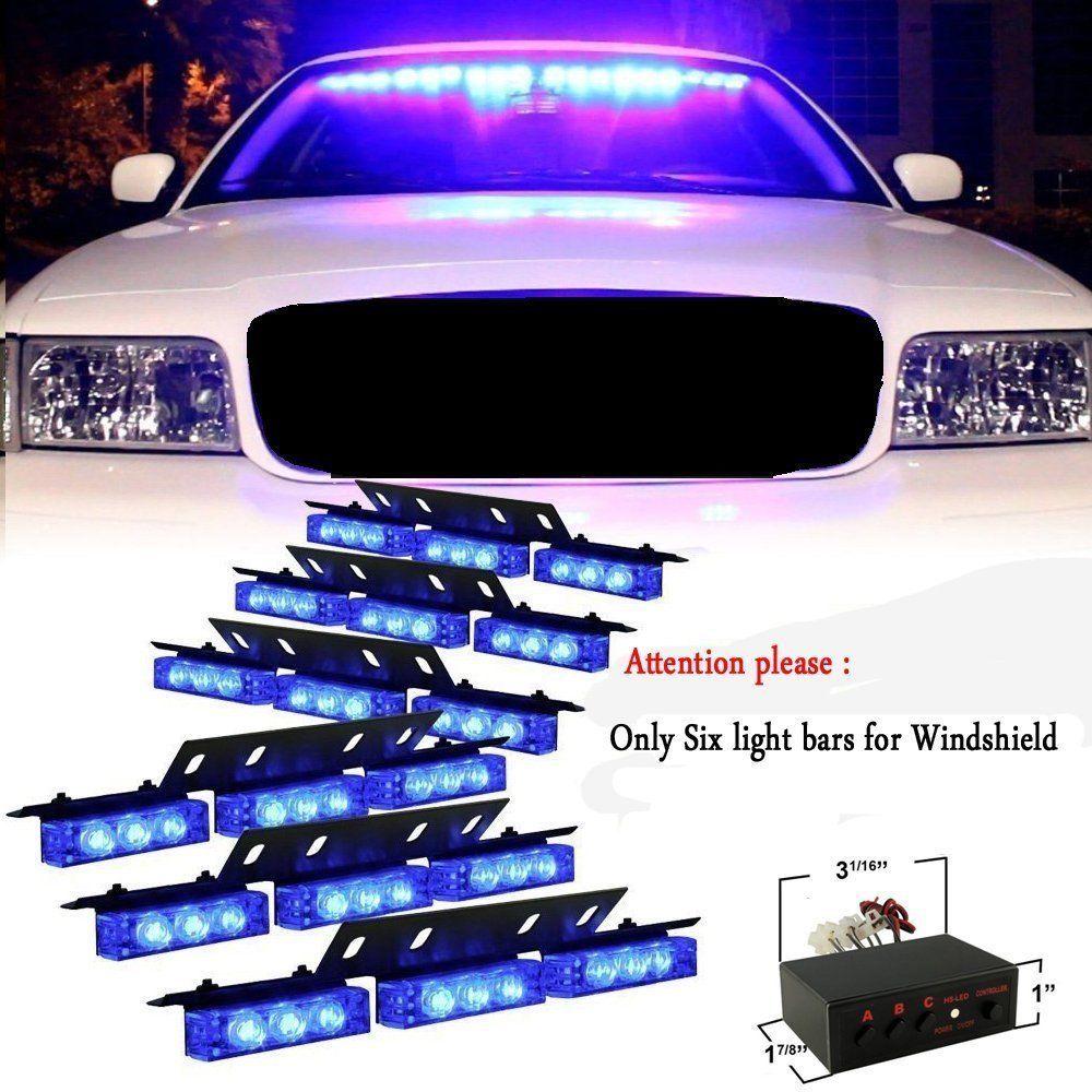 2018 54 led emergency vehicle strobe lights bars warning deck dash 2018 54 led emergency vehicle strobe lights bars warning deck dash grille blue from erindolly360 412 dhgate aloadofball Gallery