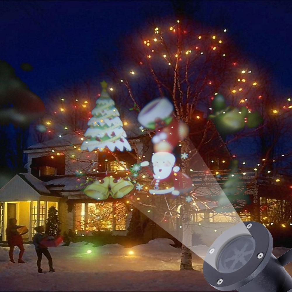 9d561d91d14 Compre Venta Al Por Mayor A Prueba De Agua En Movimiento Lámparas Láser  Proyector LED Etapa De Luz Para La Fiesta De Navidad Lámpara De Jardín De  Luz Al ...