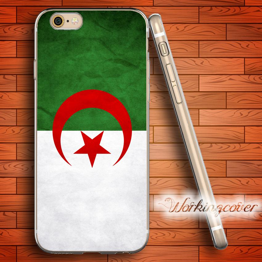 e35108706b4 Fundas Para Bandera África Argelia Soft Soft TPU Funda Para IPhone 7 6 6S  Plus 5S SE 5 5C 4S 4 Funda De Silicona. Carcasas Para Moviles Por  Workingcover01, ...