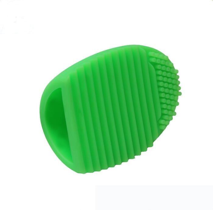 Brushegg Luva de Limpeza Maquiagem Escova de Lavagem Escova de Borracha Cosmética Brushegg Escova Cosmética Ovo 11 cores esponjas de silicone ferramentas de Limpeza