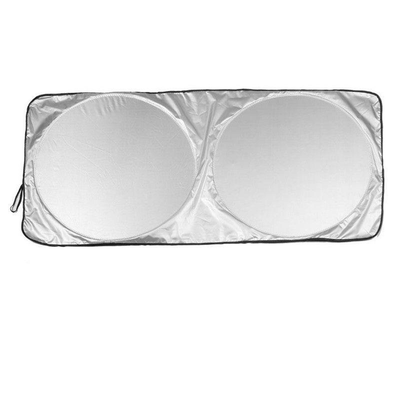 Jumbo Katlanabilir Ön Arka Araba SUV Pencere Güneş Gölge Oto Visor Cam Kapak Ücretsiz Nakliye