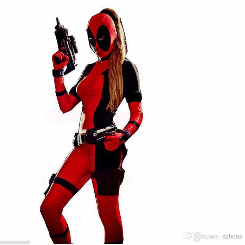 Girls Deadpool Costume Halloween Costume For Adult Deadpool Party ...