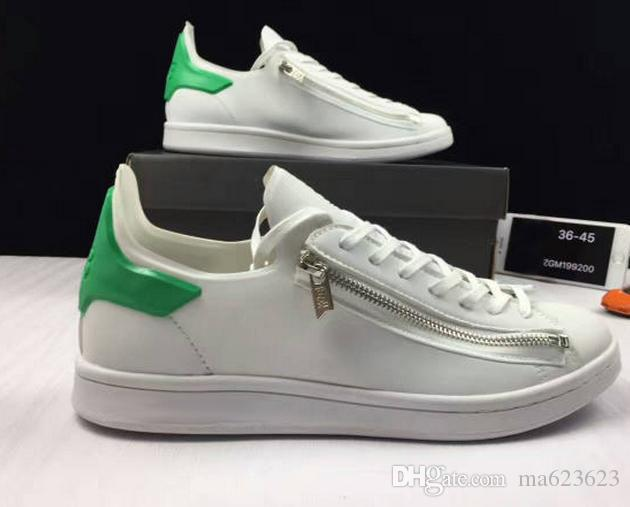 ce0d849b3 2017 New Mens Y3 Stan Smith Zip Trainers