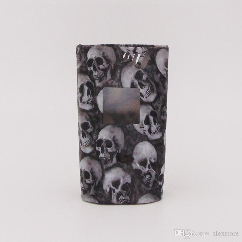 Alien 220w Skull Head Silicone Case Rubber Sleeve Protective Cover Skin For Smok SmokTech Alien 220 TC Box Mod Starter